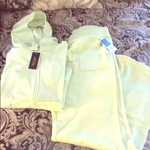 Juicy Couture Velour Track Suit NWT!Top-L/B-XL